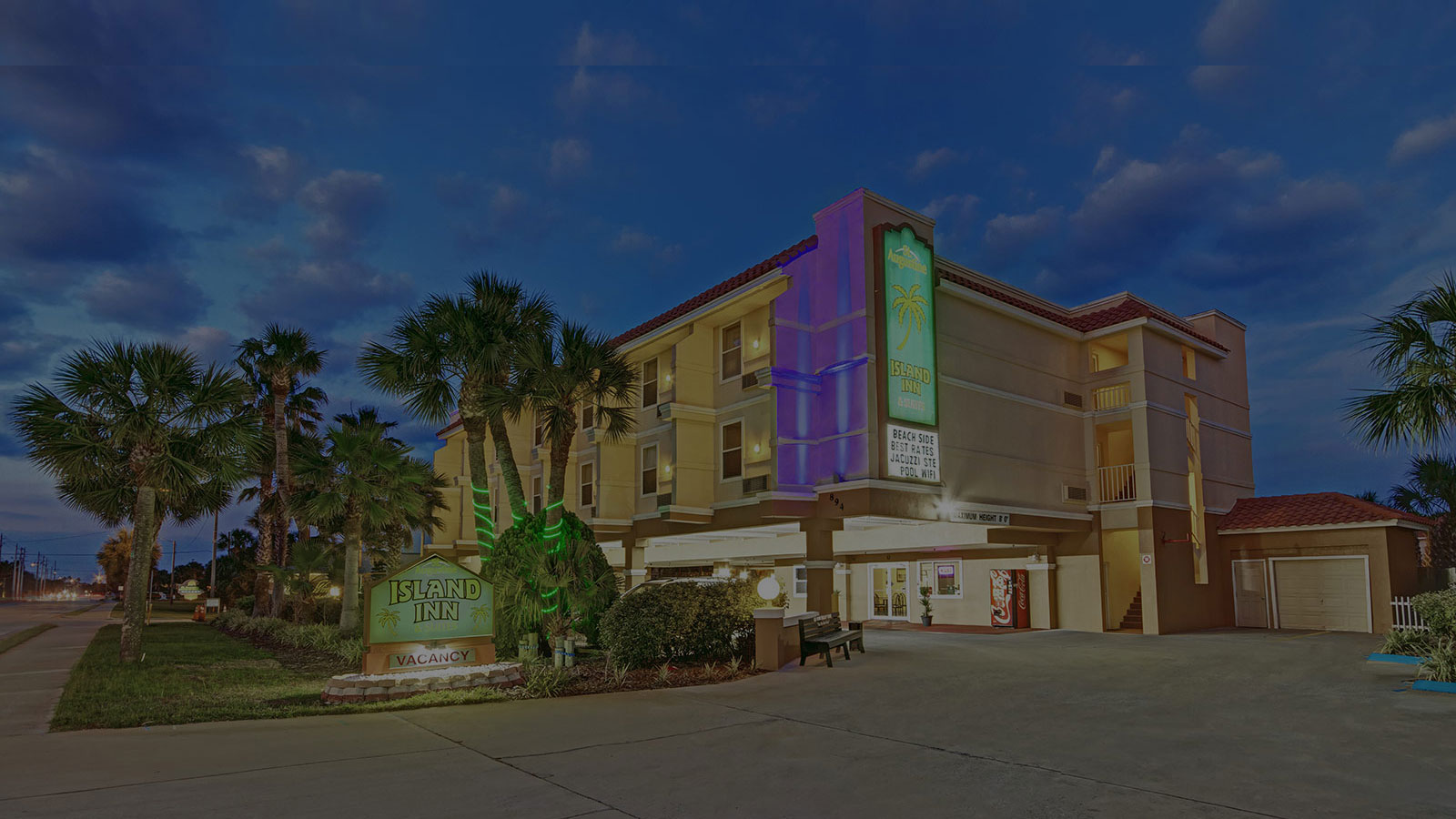 Welcome to our cozy beachside hotel - located in beautiful St. Augustine beach